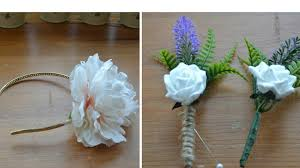 floral accessories wedding accessories how to make a flower girl headband how to
