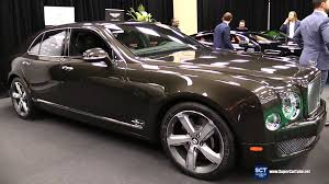 bentley mulsanne speed black 2016 bentley mulsanne speed exterior and interior walkaround
