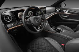 mercedes interior 2017 mercedes e class 12 interior design features
