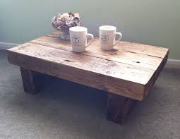 Furniture Homemade Coffee Table Solid Wood Coffee Table by New Coffee Table Yay Abode Pinterest Coffee Beams And Diy