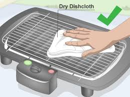 Outdoor Electric Grill 3 Ways To Clean An Electric Grill Wikihow