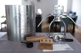 Rok Coffee be the barista at home with rok espresso maker mondomulia