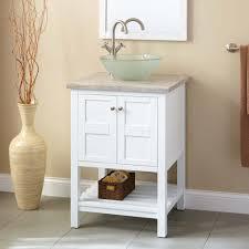 Bathroom Vanity Bowl Sink Bathroom Sink Everett White Vanity Vessel Bathroom Vanities W