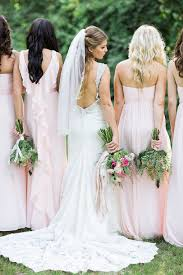 davids bridal hairstyles pink david s bridal chiffon bridesmaid dresses