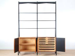 Bookcase System Mid Century Modern Scandinavian Shelving Bookcase System Galerie