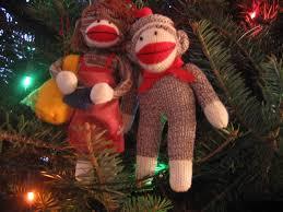 sock monkey dresses theraineysisters