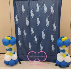 polo baby shower decorations polo party decorations