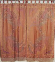 indian inspired curtains u2013 paisley woven ethnic décor living room