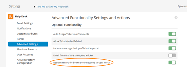 Help Desk Portal Examples Set Up Your User Portal Extending Spiceworks Spiceworks