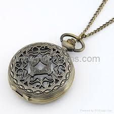 vintage necklace pendant images Vintage pendant pocket watch necklace pandora charmsclub jpg
