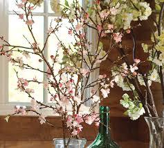 pottery barn cherry blossom branch decorating ideas pinterest