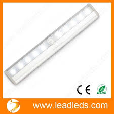 battery operated motion activated light 10 led wireless motion sensor light automatic with magnetic strip
