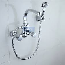 Wall Mount Kitchen Faucet by Online Get Cheap Wall Mount Kitchen Faucet Sprayer Aliexpress Com