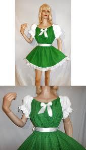 sissy baby st patricks day irish plaid lil style dress