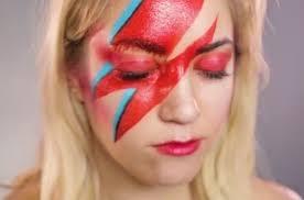 aladdin sane makeup tutorial rock david bowie u0027s iconic lightning