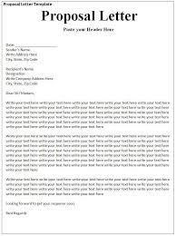 proposal letter pdf business partnership proposal cover letter