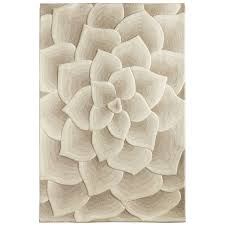 Rose Area Rug Rose Tufted Ivory Rug Floor Art Living Room Ideas And Apartments
