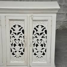 Jali Home Design Reviews Jali Design 6 Door Large Sideboard White