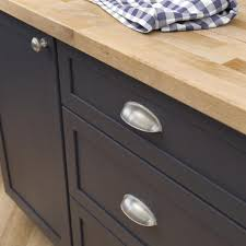 home depot kitchen cabinet hardware pulls 2 1 2 or 3 in 64 or 76mm center to center brushed satin nickel dual mount cup drawer pull