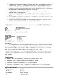 Sample Dot Net Resume For Experienced by Dot Net Resume Experience Corpedo Com