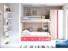 chambre lit superposé comment aménager une chambre pour fille et y intégrer un lit superposé