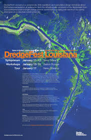 Lsu Map Dredgefest Louisiana Porous Places