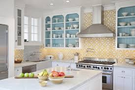light yellow kitchen with white cabinets 75 beautiful kitchen with white cabinets and yellow