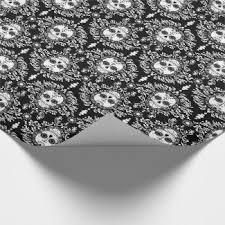 skull wrapping paper sugar skull wrapping paper sugar skulls gift wrap sugarskullgear