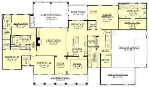 country floor plans country style house plan 4 beds 3 5 baths 3194 sq ft plan 430