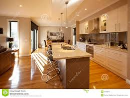 Open Plan by Open Plan Kitchen Stock Photo Image 9339670