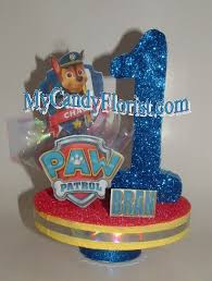 paw patrol 3d cake topper table centerpiece 3d