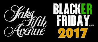 saks fifth avenue black friday 2017 sale deals cyber monday 2017