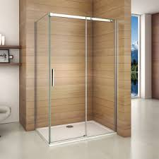 Sliding Shower Screen Doors New Frameless Sliding Shower Enclosure Glass Screen Door Side