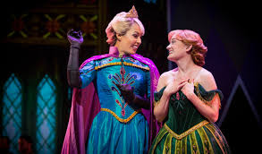 review of the new frozen musical at disney california adventure
