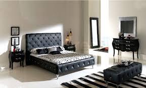 Leather Platform Bed Nelly Platform Bed Black Leather 1 500 00 Furniture Store