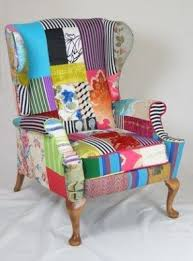patchwork armchairs foter