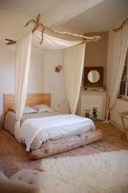 décoration chambre à coucher bois flotté table basse en bois flotté