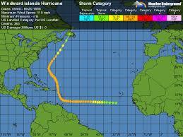 weather map us islands windward islands hurricane weather underground