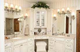 Corner Vanity Cabinet Bathroom Delightful Corner Vanity Cabinet Interesting Ideas With Master