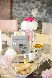 deco table rose et gris mariage romantique féérique real wedding jennifer u0026 david