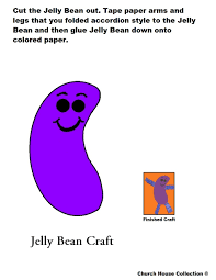 cave city jelly bean craft for kids