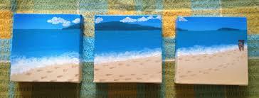 wall art beach scenes shenra com acrylic art by anna martin