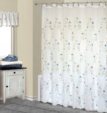 Dc Shower Curtain Shower Curtains With Valance And Tiebacks Attached Courtyard