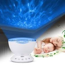 baby night light projector with music ocean wave projector night light built in speaker night light