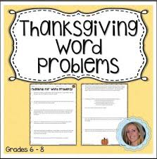 by lindsay perro 6th 8th grade nine word problems with a