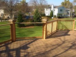 deck railing glass systems deck milwaukee by american glass
