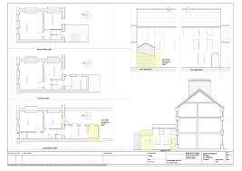 Renovation Plans by Georgian House Renovation Dundalk Louth Ireland Existing Plan