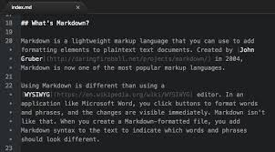 format file atom getting started markdown guide