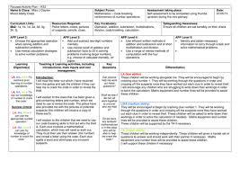 statistics homework ks2