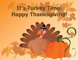 it s turkey time happy thanksgiving